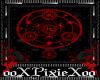 Pentagram floor red