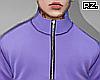 rz. Purple Turtleneck