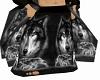 [V9C] Black Wolf Robe
