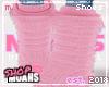 $ Fur Boots - Rose Petal