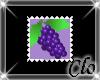 [Clo]Grape stamp