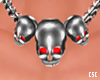 Skulls Chain Necklace M