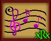 Music Note Seat Purple