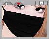 ☪ Black Face Mask.
