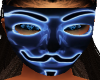 Neon Blue Anom Mask