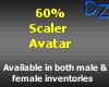 60% Scaler Avatar - M