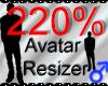 *M* Avatar Scaler 220%