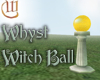 Witch Ball - Gold