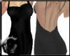 Black Silk- Ribbon Back