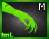 lmL Green Claws M