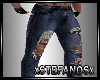 Derivable Ripped Jeans