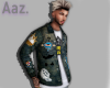Aaz. Art Denim Jacket