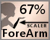 67% ForeArm Scaler F A