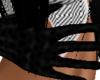 Spider Woman Blk Gloves