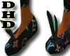 DHD LV House Shoes BLACK