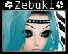 +Z+ Teal Spiked Headband