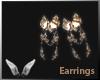 [Sc] Wolf Earrings