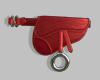 red saddle