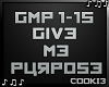 !C! - Give Me Purpose
