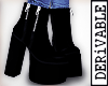 ! Req. Black Zen Boots