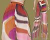 PinkOrange Swirl Pants