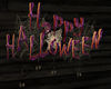 !Halloween Sign