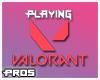 F Valorant Headsign