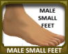 Male Small Feet