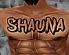 SHAUNA CHEST TATTOO