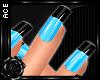 [AW]Nails: Wild Blue