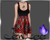 JSW Plaid Mini Dress