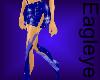 (ES) Sexy Blue Skirt 1