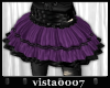 [V7] Purple Tulle Skirt