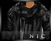 [Nic]Fariq Leather Jacke