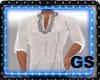 """""""GS"""" ARABIC WHITE SHIRT"""