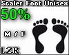 Scaler Foot Unisex 50%