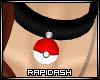 Pokeball Bell Collar [M]
