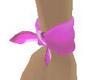 pink wrist band