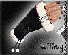 [W] Fur Gloves Black II
