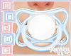 🐕 Cute Pacifier Blue