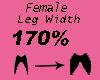 Leg Width 170%