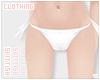 ≡ Bikini Bottoms /wht
