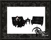 Dark| Goth Cafe Chair