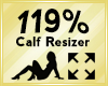 Calf Scaler 119%