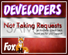 Developer No Requests