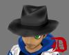 (D) Black hat male