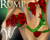 *W* Xmas Gift Wrap Rump
