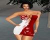 Red Snowflake Dress