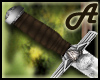 A~ Medieval boot knive M
