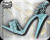 ! ASHE Teal Gem heels